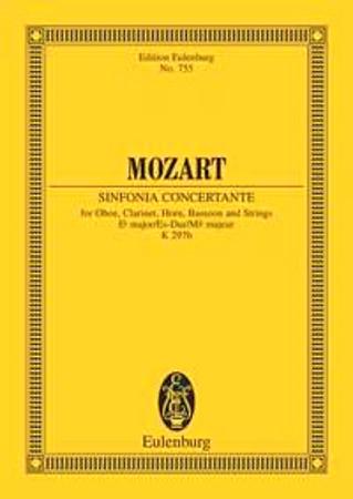 SINFONIA CONCERTANTE in Eb KV297b score