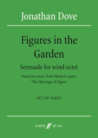 FIGURES IN THE GARDEN (set of parts)
