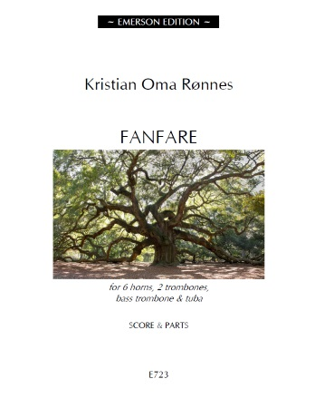 FANFARE (score & parts) - Digital Edition