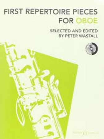 FIRST REPERTOIRE PIECES for Oboe + CD