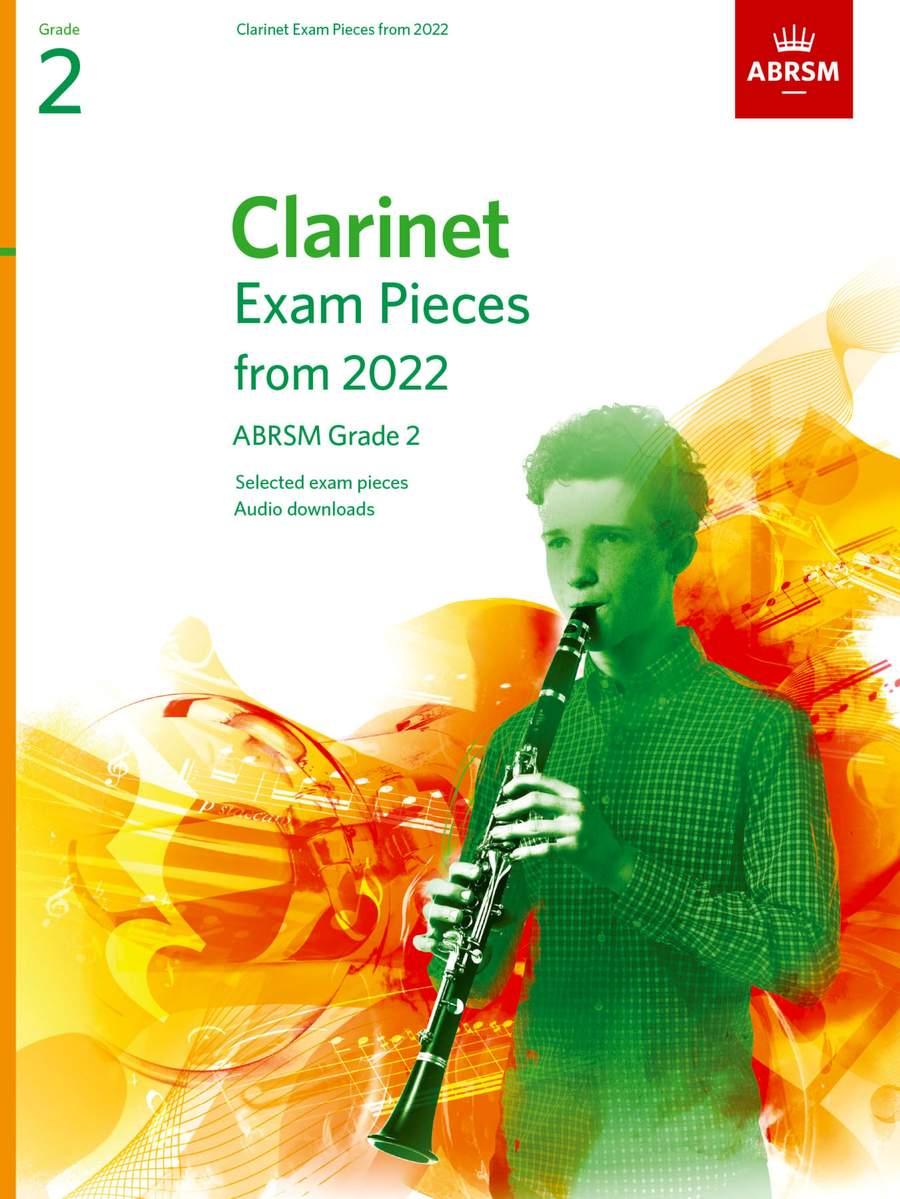 CLARINET EXAM PIECES From 2022 Grade 2