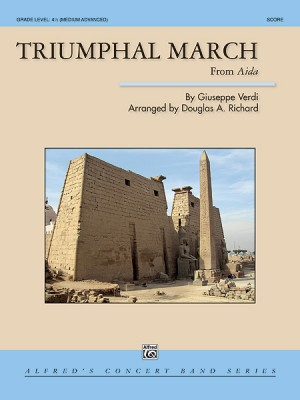 TRIUMPHAL MARCH from Aida (score & parts)
