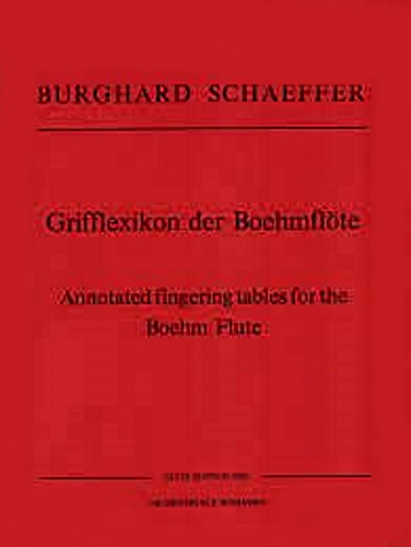 ANNOTATED FINGERING TABLES for the Boehm Flute