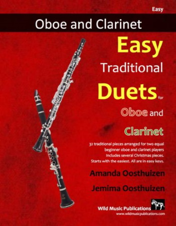 EASY TRADITIONAL DUETS for Oboe & Clarinet