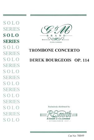 TROMBONE CONCERTO Op.114