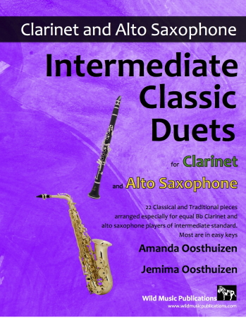 INTERMEDIATE CLASSIC DUETS for Clarinet & Alto Saxophone