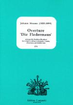 OVERTURE 'Die Fledermaus' (score & parts)