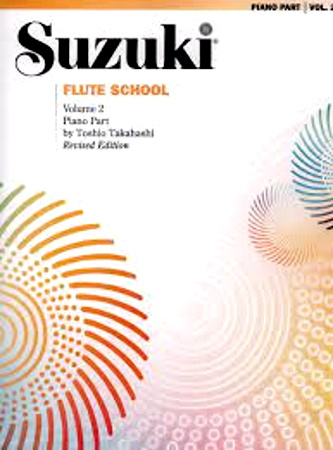SUZUKI FLUTE SCHOOL Volume 2 Piano Accompaniment