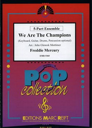 WE ARE THE CHAMPIONS (score & parts)