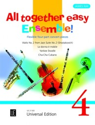 ALL TOGETHER EASY ENSEMBLE Volume 4