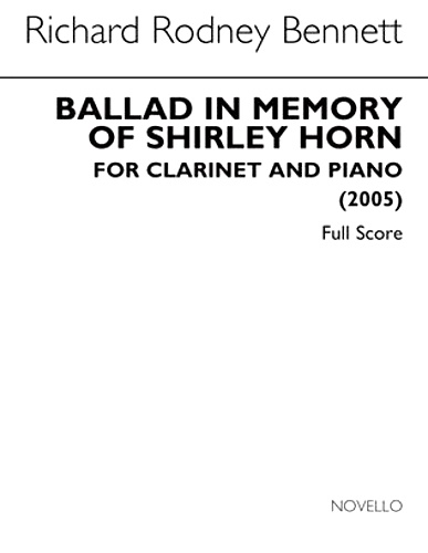 BALLAD IN MEMORY OF SHIRLEY HORN