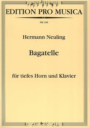 BAGATELLE for Low Horn