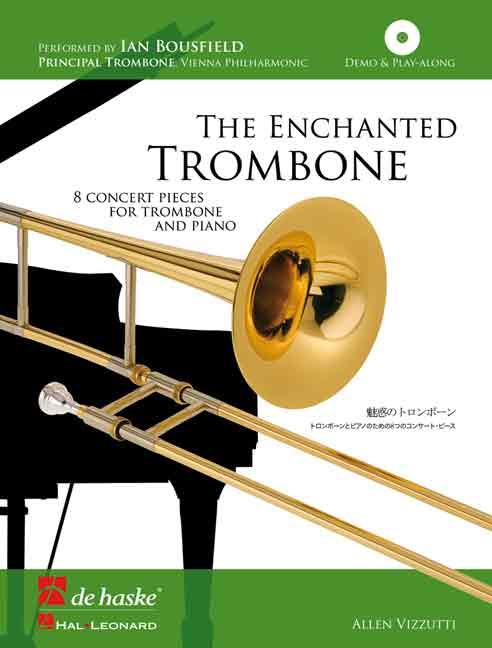 THE ENCHANTED TROMBONE + CD (bass clef)