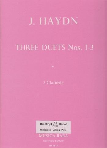 THREE DUETS Nos.1-3