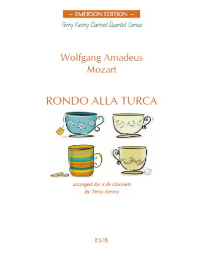 RONDO ALLA TURCA score & parts