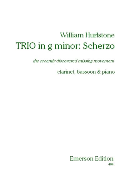 TRIO in g minor: Scherzo (the missing movement)