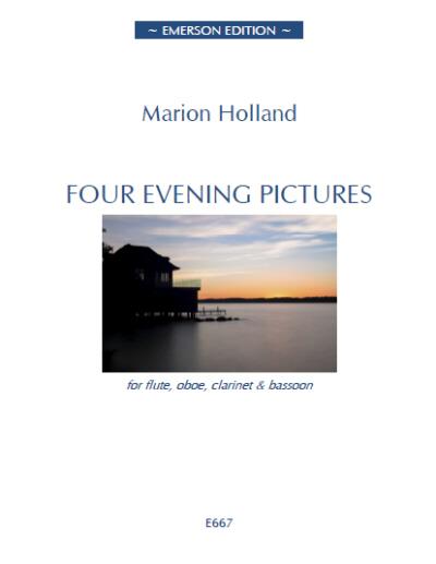 FOUR EVENING PICTURES score & parts