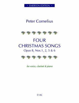 FOUR CHRISTMAS SONGS Op.8