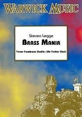 BRASS MANIA + CD (treble clef)
