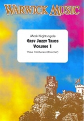 EASY JAZZY TRIOS Volume 1 (bass clef)
