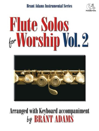 FLUTE SOLOS FOR WORSHIP Volume 2 + CD