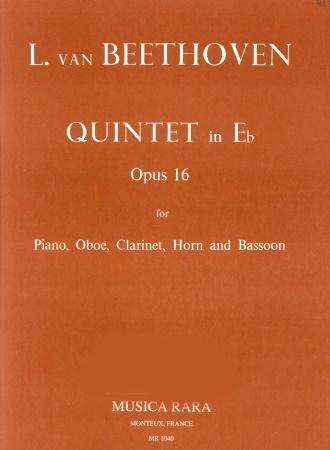 QUINTET in Eb major Op.16 (score & parts)