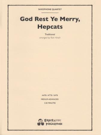 GOD REST YE MERRY, HEPCATS (score & parts)