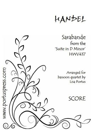 SARABANDE (score & parts)
