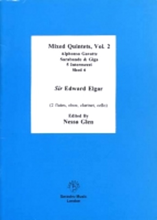 MIXED QUINTETS Volume 2 (score & parts)