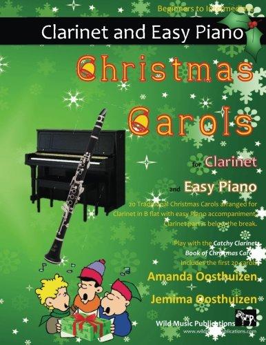 CHRISTMAS CAROLS for Clarinet & Easy Piano