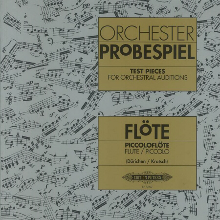 ORCHESTER PROBESPIEL for Flute/Piccolo 2 CDs