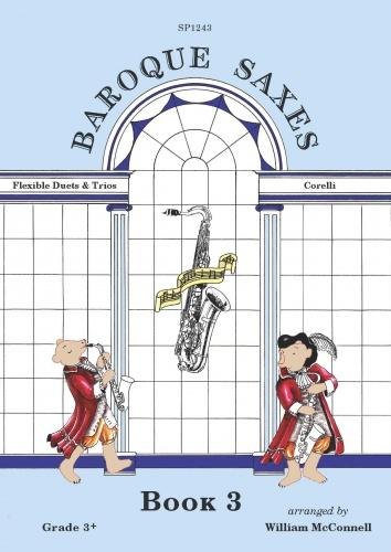BAROQUE SAXES Book 3: Corelli (score & parts)