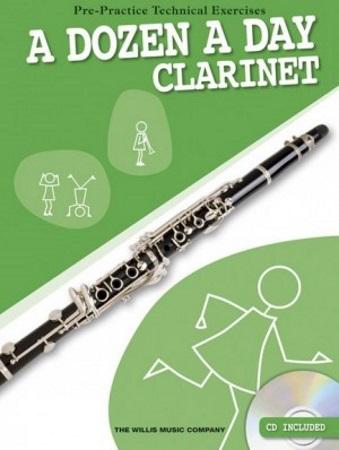 A DOZEN A DAY Clarinet + CD