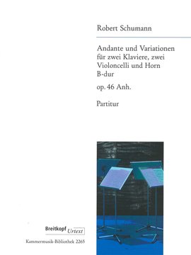 ANDANTE AND VARIATIONS Op.46 Anh. set of parts