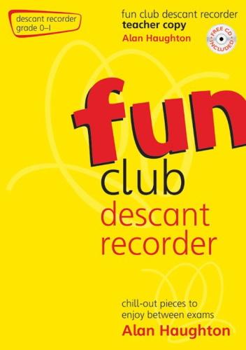 FUN CLUB FLUTE Grade 0-1 Teacher Copy + CD