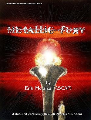 METALLIC FURY (score & parts)