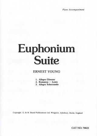 EUPHONIUM SUITE treble/bass clef