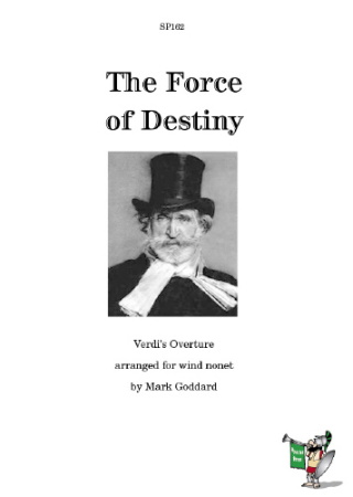 FORCE OF DESTINY Overture (score & parts)