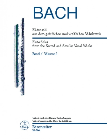 FLUTE SOLOS from the Sacred and Secular Vocal Works Volume 2