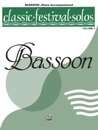 CLASSIC FESTIVAL SOLOS Volume 2 Piano Accompaniment