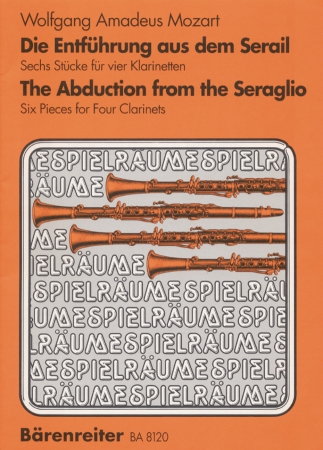 THE ABDUCTION FROM THE SERAGLIO score & parts