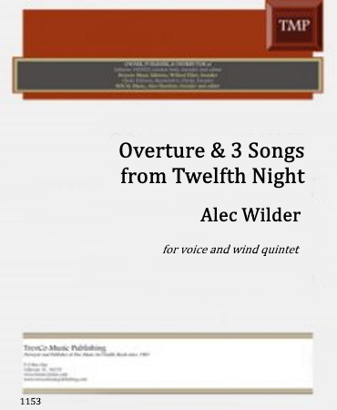 12TH NIGHT Overture & Three Songs