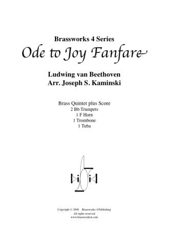 ODE TO JOY Fanfare