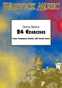 24 EXERCISES (treble clef)
