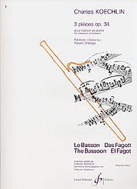 TROIS PIECES Op.34
