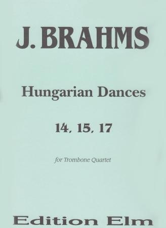 HUNGARIAN DANCES No.14, 15 & 17 (score & parts)