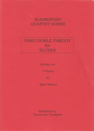 PASO DOBLE PARODY FOR FLUTES