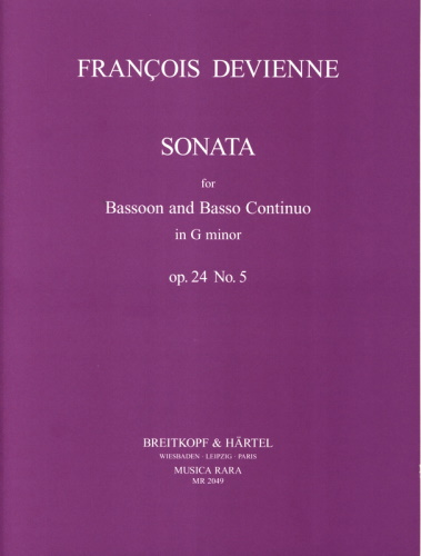 SONATA in G minor Op.24 No.5