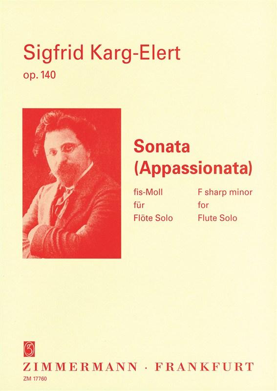 SONATA in F# minor Op.140, 'Appassionata'
