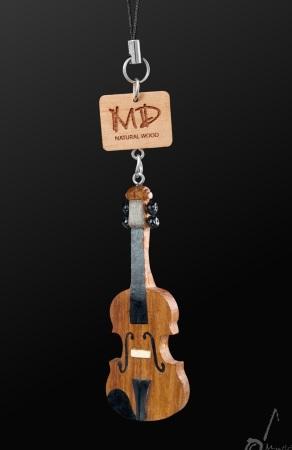 WOODEN STRAP Violin (3D)